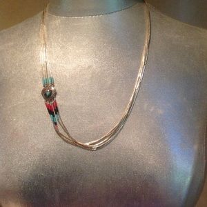 Jewelry - Multi strand Indian necklace